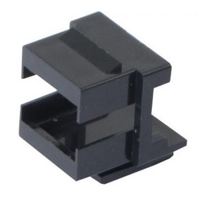 Adaptateur keystone LC duplex ou SC simplex lot de 10 noir