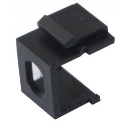 Adaptateur keystone ST simplex lot de 10 noir