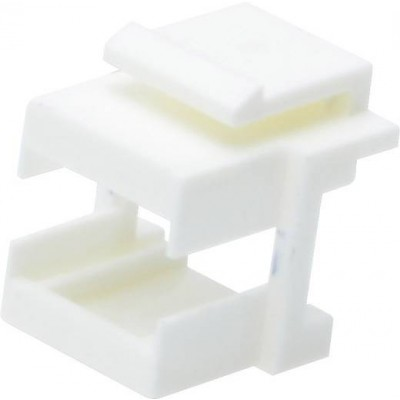 Adaptateur keystone LC duplex ou SC simplex lot de 10 blanc