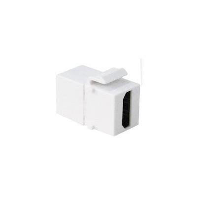 Embase keystone HDMI femelle blanc
