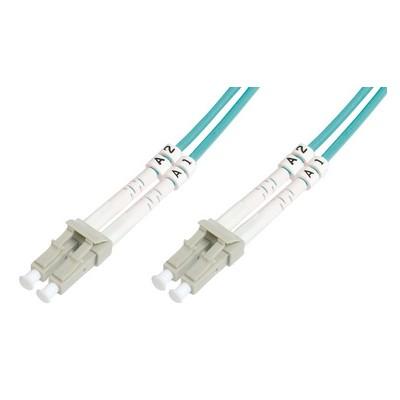 Jarretière optique multimode OM3 duplex 50/125µ  LC/LC - 3m00