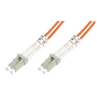 Jarretière optique multimode OM2 duplex 50/125µ  LC/LC - 1m00