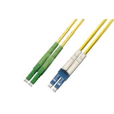Jarretière optique monode OS2 duplex 9/125µ  LC APC/LC UPC – 5m00