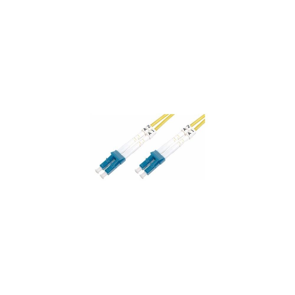 Jarretière optique monode OS2 duplex 9/125µ  LC UPC/LC UPC – 2m00