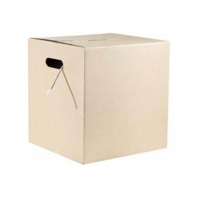 Câble U/UTP catégorie 6 économique CCA monobrin PVC gris en carton dévidoir – 305m