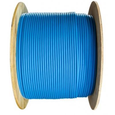 Câble F/UTP catégorie 6 monobrin LSZH bleu en touret – 500m