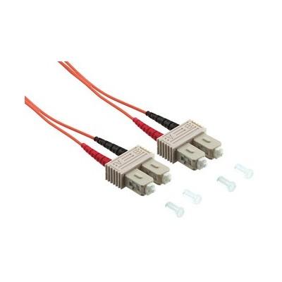 Jarretière optique multimode OM2 duplex 50/125µ  SC/SC - 10m00