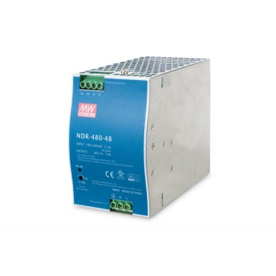 Alimentation 48V 480W pour switch industriels rail din