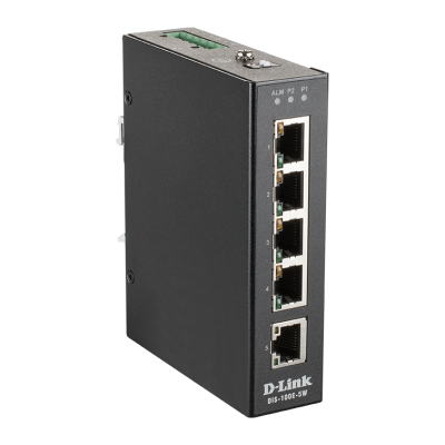 Switch industriel non administrable fast ethernet  5 ports 10/100BaseT(X)