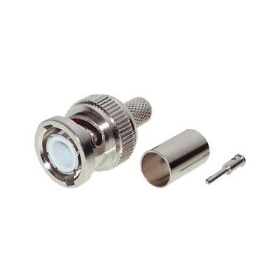 Connecteur BNC à sertir pour câble 75 ohms KX6
