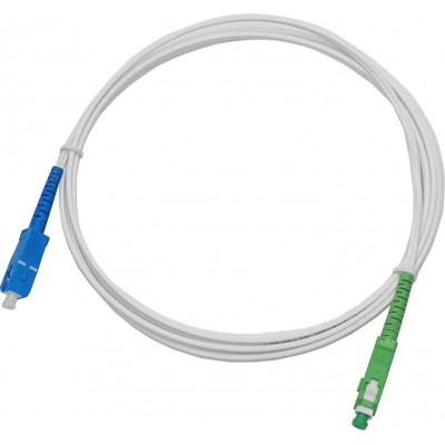 Jarretière optique opérateur FREE monomode OS2 simplex SC APC/SC UPC – 5m00