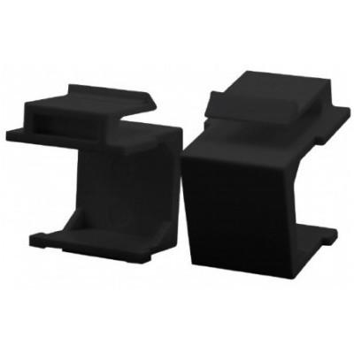 Bouchon obturateur format keystone par 8 – noir