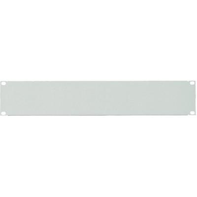 Panneau 19'' 2U obturateur gris (RAL7035)