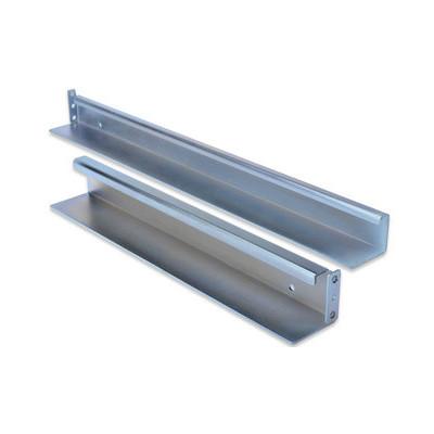 Kit de glissière 1U pour baies serveur en tôle d'acier galvanisée charge admissible : 100kg