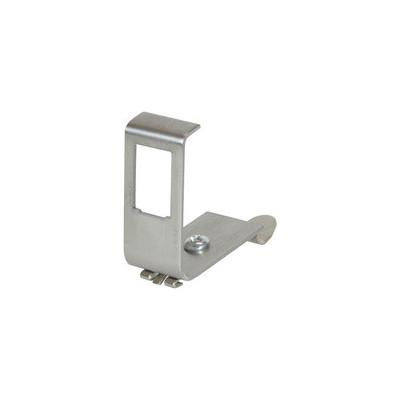 Adaptateur métal rail DIN pour un module Keystone
