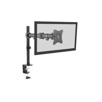 Bras pivotant pour moniteur LCD/LED pour un écran noir avec pince de table adapté pour moniteurs jusqu'à 68