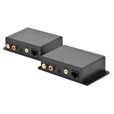 Extendeur audio sur câble réseau jusqu' 600m