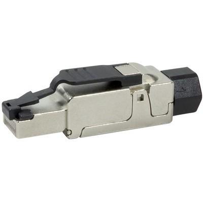 Connecteur RJ45 mâle pour câble monobrin catégorie 6A AWG 23-26