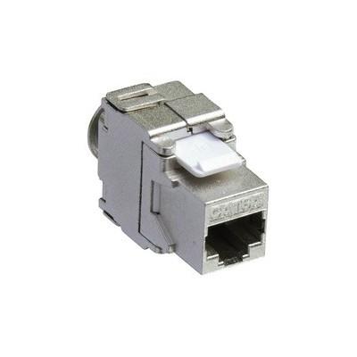 Noyau R45 catégorie 6A blindé format keystone