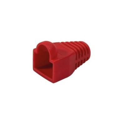 Manchons de protection RJ45 pour cordon réseau lot de 10 – rouge