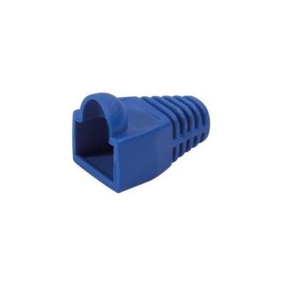 Manchons de protection RJ45 pour cordon réseau lot de 100 – bleu