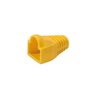 Manchons de protection RJ45 pour cordon réseau lot de 100 – jaune