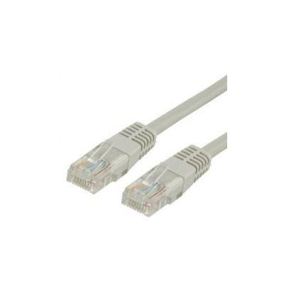 Cordon réseau U/UTP  catégorie 5E économique PVC gris - 1m00
