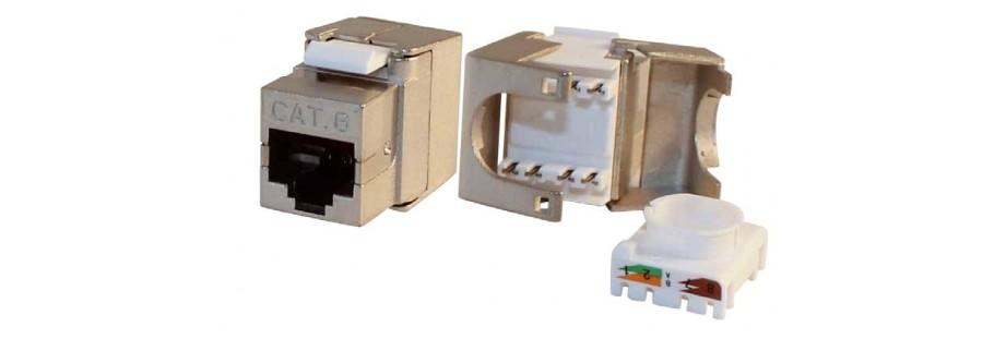 Connecteurs et noyaux RJ45