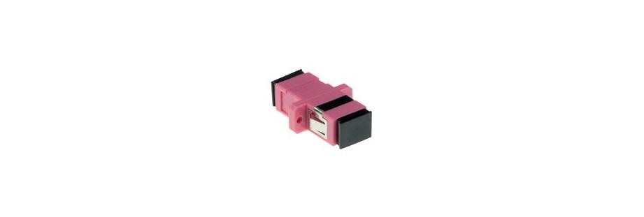 Traverses coupleurs adaptateurs fibre optique